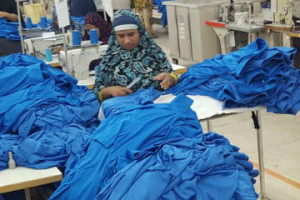 South Asian workers from Sri Lanka and Bangladesh working in Jordanian garment factories in Dhulail Industrial City. Courtesy: Rina Mukherji.
