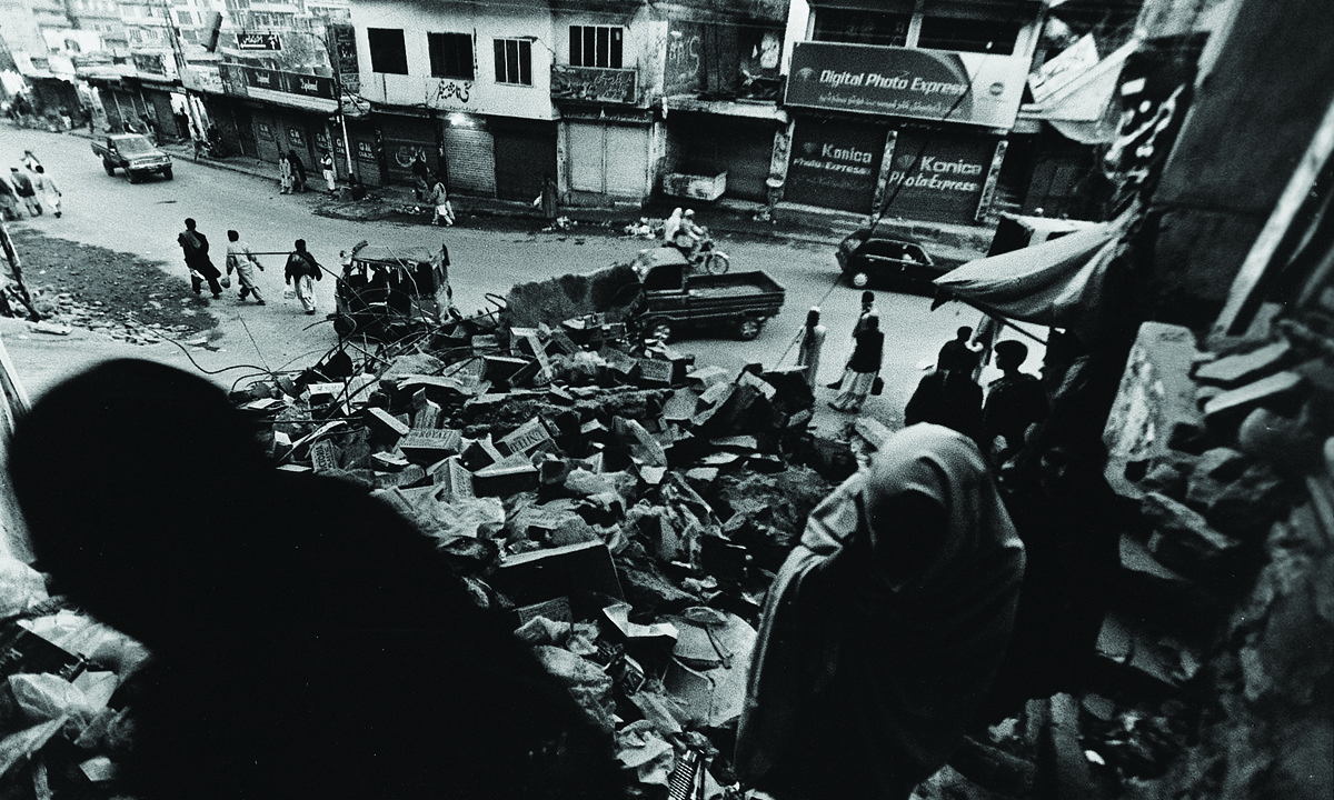 The aftermath of the Kashmir earthquake, 2005. Credit: White Star.