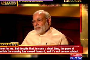 modi interview