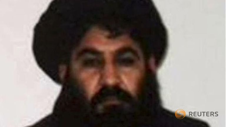 US Strikes Afghan Taliban Targets