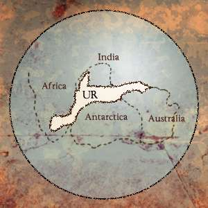 The location of Ur. Source: Author provided