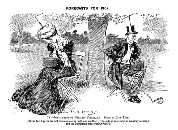 Worrying trends, 1906. Reproduced with permission of Punch Ltd., www.punch.co.uk/theconversation.com