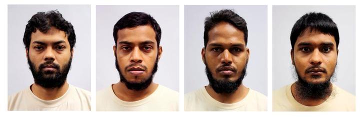 Four Bangladeshi Men Imprisoned in Singapore's First Terrorism Financing Case