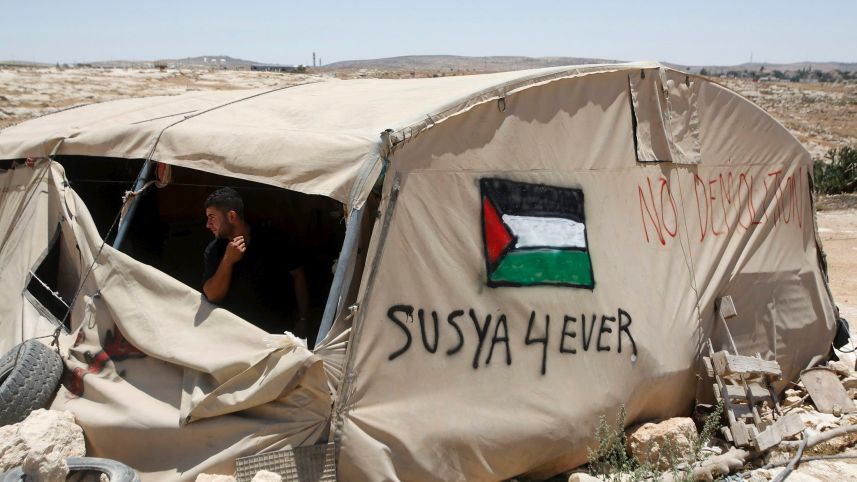 A Naked Attempt to Destroy a Palestinian Village and Rid It of Its Inhabitants