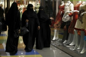 Saudi women shop at Al-Hayatt mall in Riyadh February 15, 2012. Credit: Reuters/Fahad Shadeed/File Photo