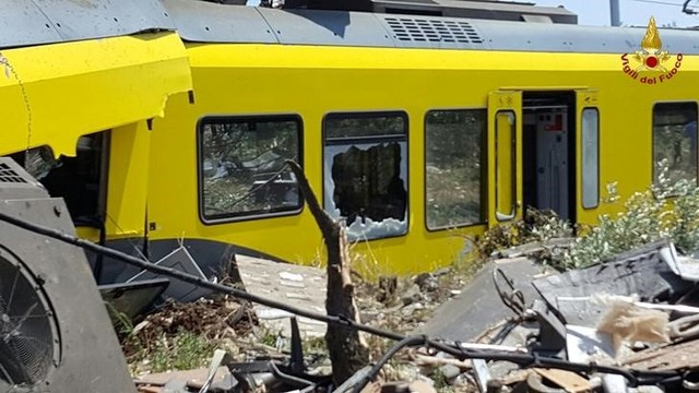 Two Trains Collide in One of the Worst Train Disasters in Italy