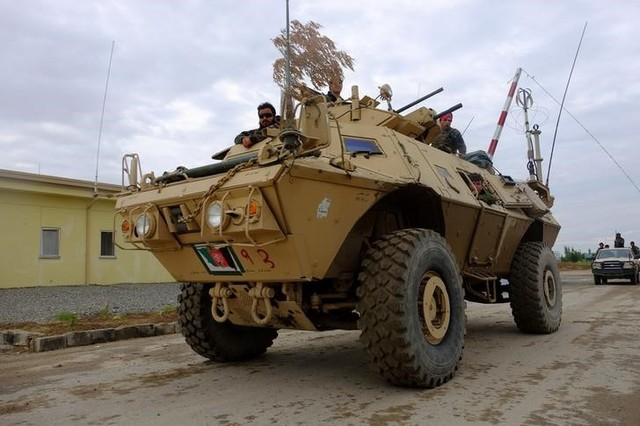 US Scrapped Plans to Give Afghan Forces Life-Saving Armoured Vehicles in 2014