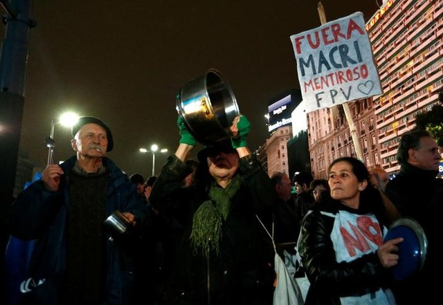 Argentines Take to the Streets Against Macri After Utility Bills Soar