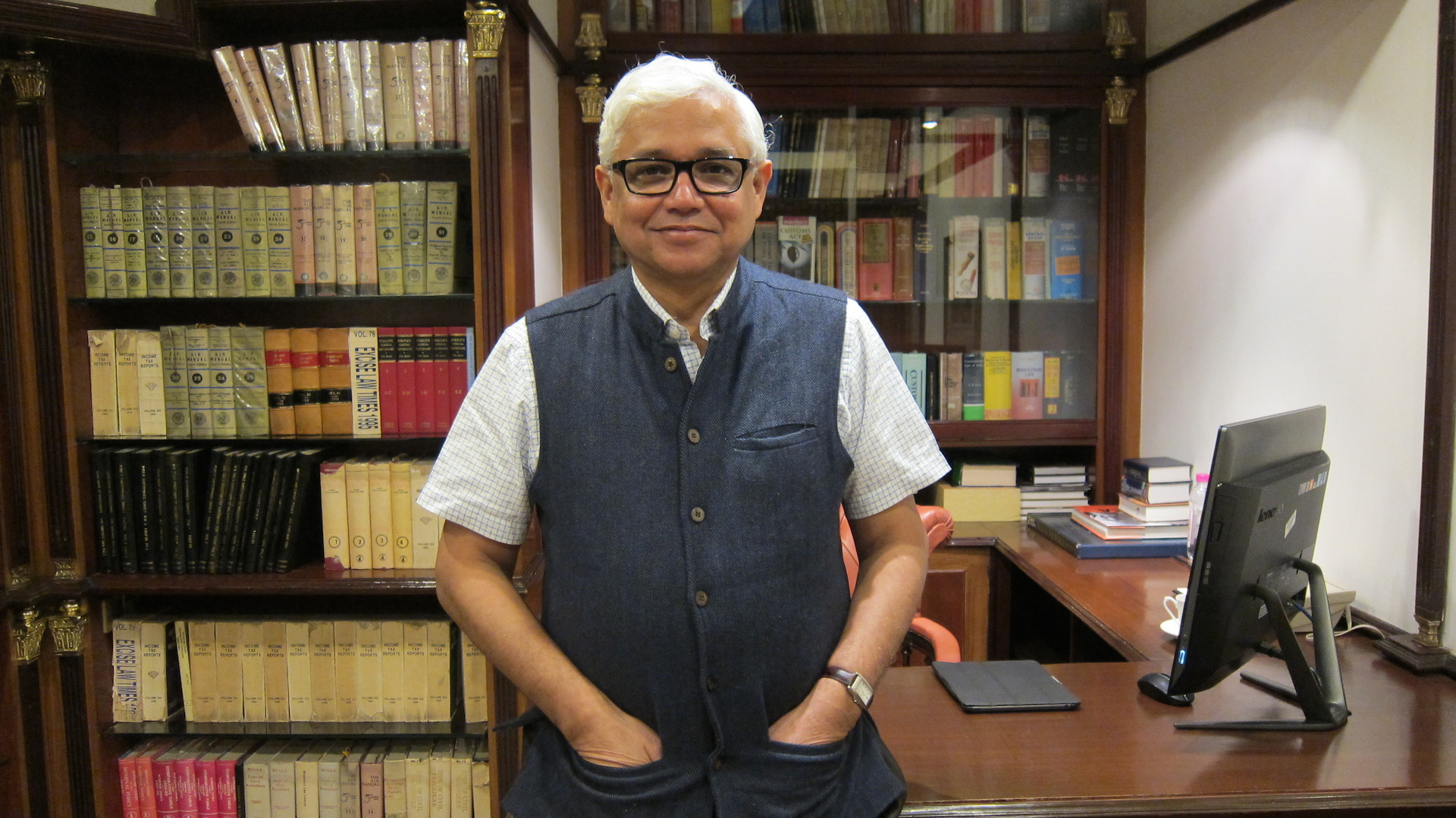 Amitav Ghosh. Source: Shreya Ila Anasuya