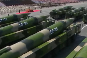 China 'Guam Killer' Ballistic Missile. Credit: YouTube