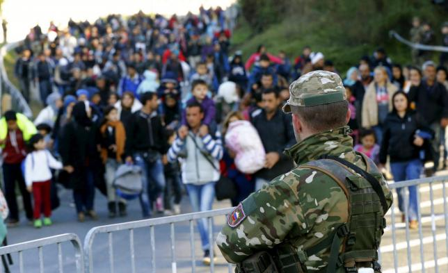 Arms Dealers Emerge Big Winners in Europe's Refugee Crisis