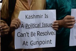 Kahsmir protest in delhi