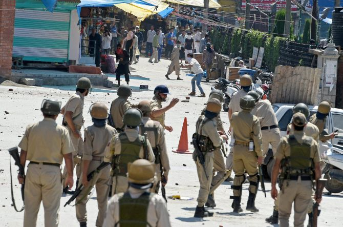 Eight Dead in Kashmir Violence After the Killing of Burhan Wani