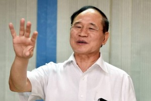 Nabam Tuki after taking charge as chief minister of Arunachal Pradesh in Delhi on Thursday. Credit: PTI