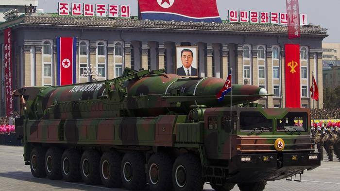The Musudan missiles. Credit: Reuters