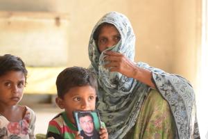 Mustain Abbas's family. Credit: Akhil Kumar