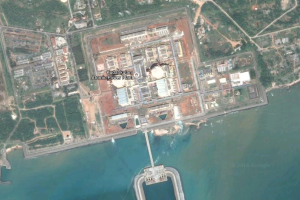 The Kudankulam Atomic Power Complex as seen on Google Maps. Source: Google