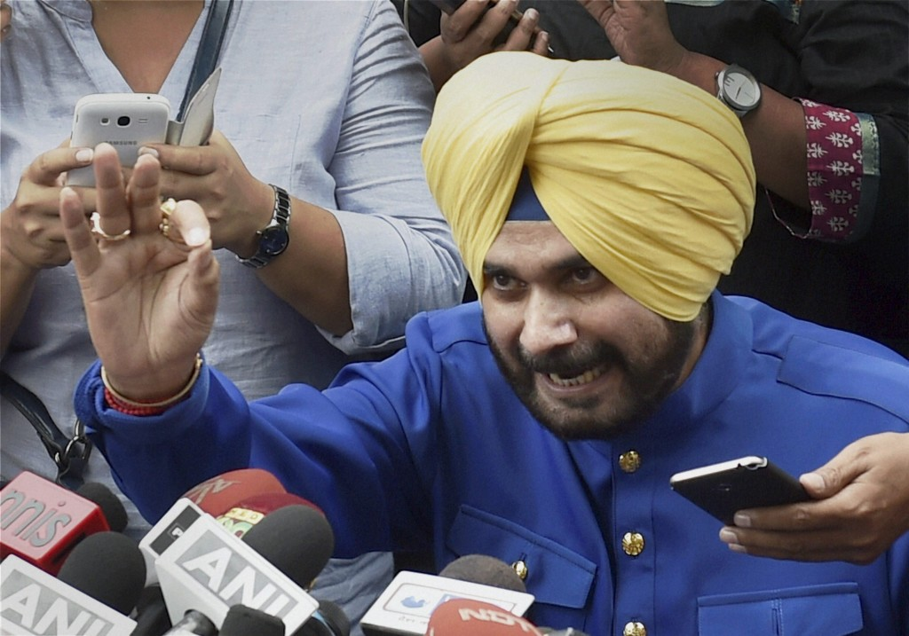SC Finds Sidhu Guilty in Road Rage Case, Spares Him Jail Term
