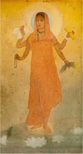 'Bharat Mata' by Abinandranath Tagore. Credit: Flickr