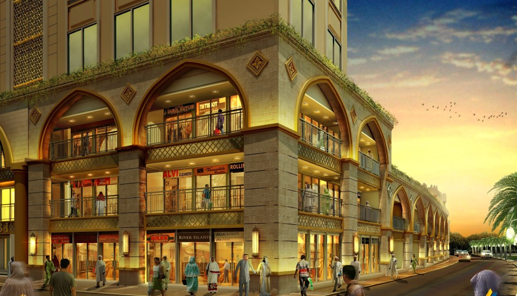 The buildings of Bhendi Bazaar will have shopping areas on the first few floors.