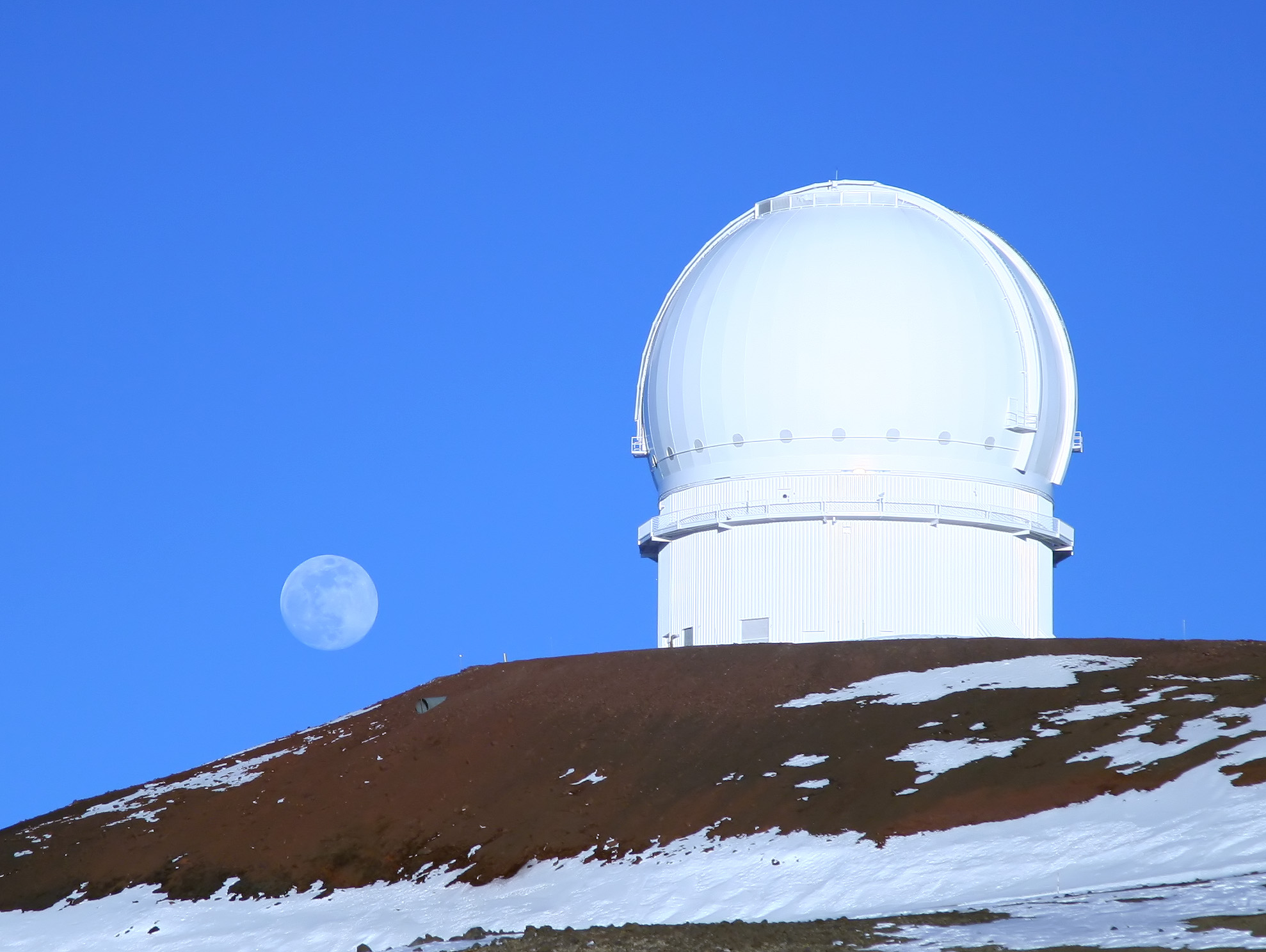 The Canada-France-Hawaii Telescope, using which RR245 was found. Credit: Wikimedia Commons