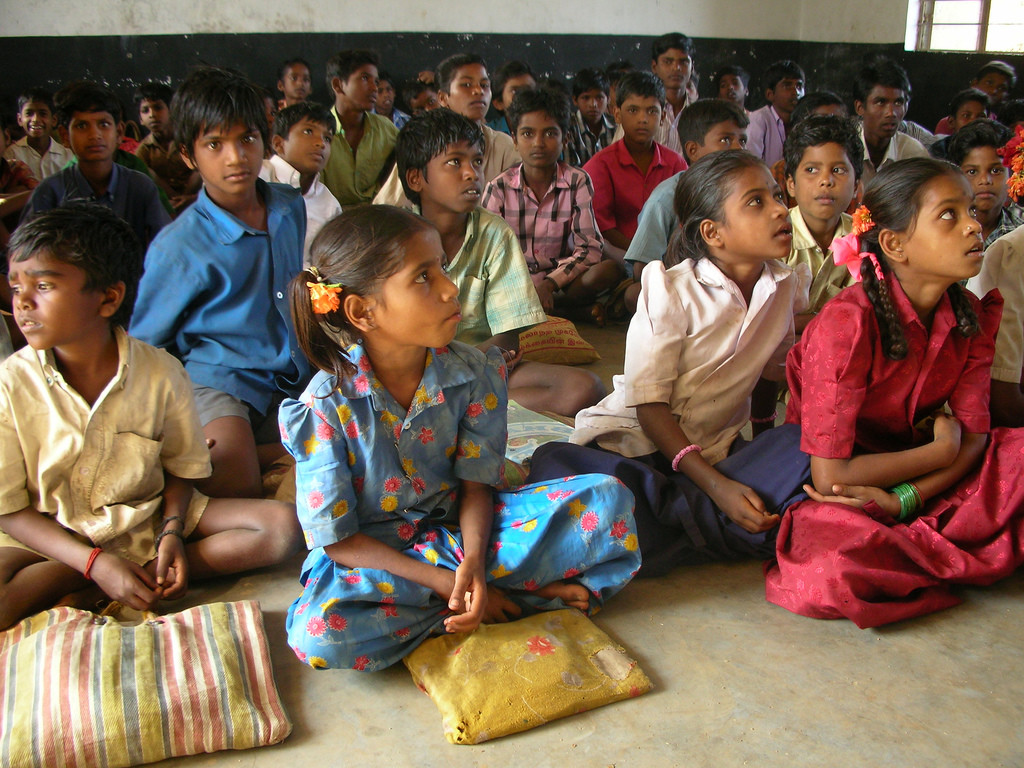 A classroom in a government school in Bihar. Credit: Flickr