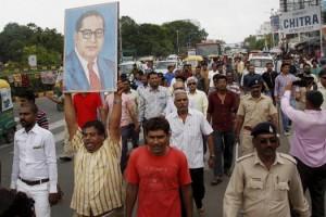 dalitprotest_ambedkar