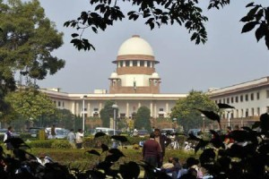 A view of the Supreme Court building is seen in New Delhi, December 7, 2010. Credit: Reuters/B Mathur