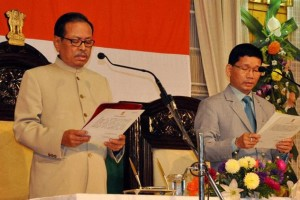 J.P. Rakhowa and Kalikho Pul. Credit: PTI