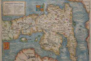 Munstet, British isles, 1570. Credit: maphouse.co.uk