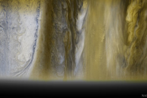 An image of Jupiter's diverse clouds taken by the New Horizons probe in 2007 (then en route to pluto). Credit: NASA, Johns Hopkins U. APL, SWRI