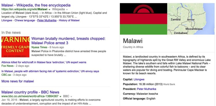 Malawi - News of the Day: Woman brutally murdered, breast chopped off