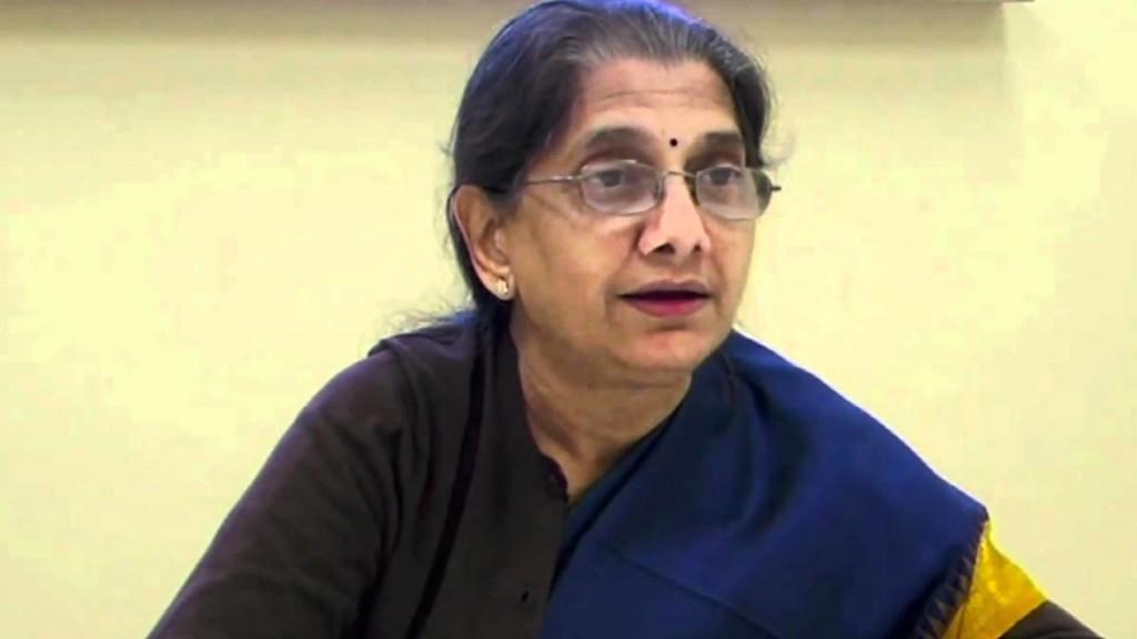 Veena Sahasrabuddhe (1948 - 2016). Credit: Youtube