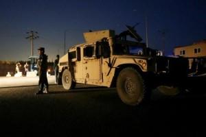 Afghan policemen keep watch near the site of a blast in Kabul, Afghanistan August 1, 2016.  Omar Sobhani, Reuters/Files