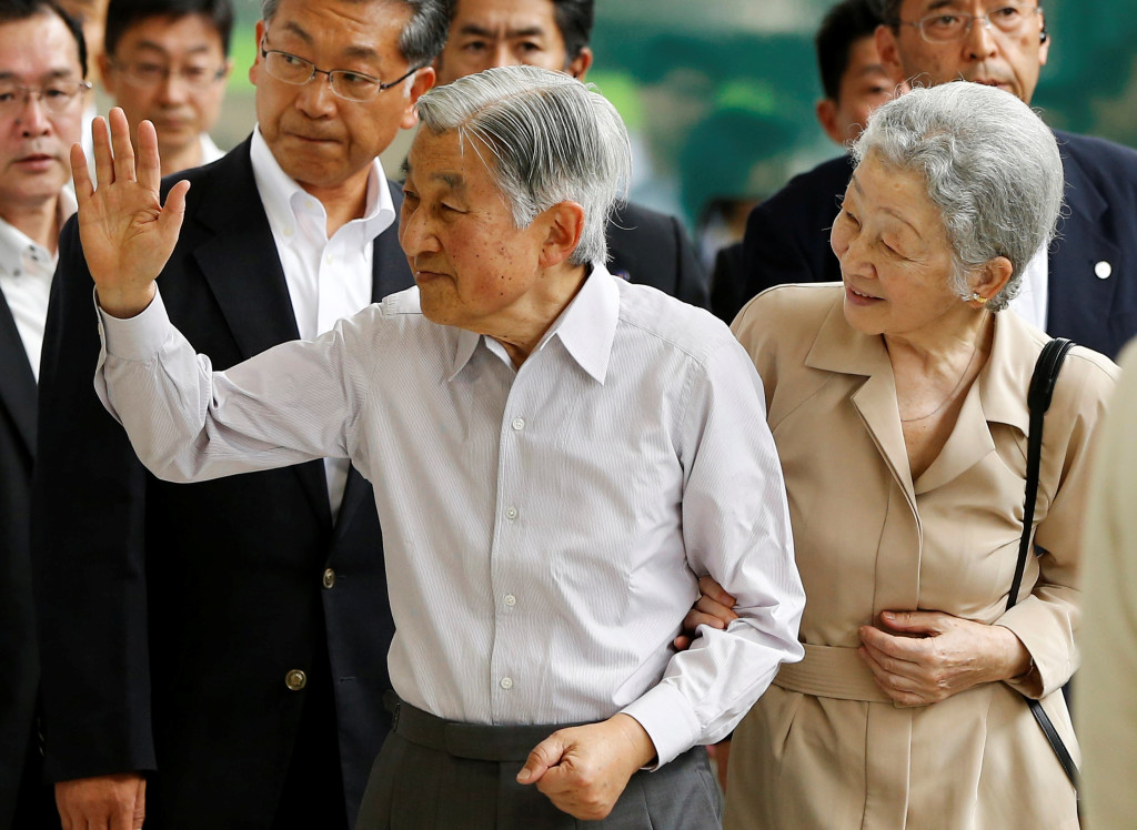 Japan's Elderly Emperor Breaks with Tradition; Considers Abdication