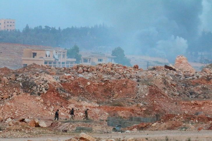 Aleppo Artillery Base Stormed by Syrian Rebels