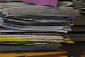 Piles of files. Credit: grace_kat/Flickr CC 2.o