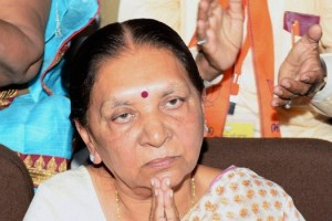 Anandiben Patel. Credit: PTI/Files