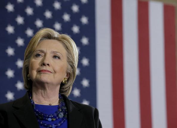 Hillary Clinton Avoids the Glare of National Spotlight
