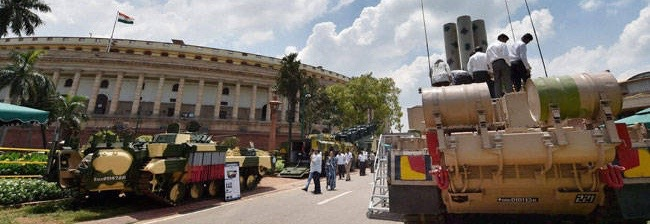 Arms Exhibition at Parliament: Inappropriate Display of 'Pseudo-Nationalism'?