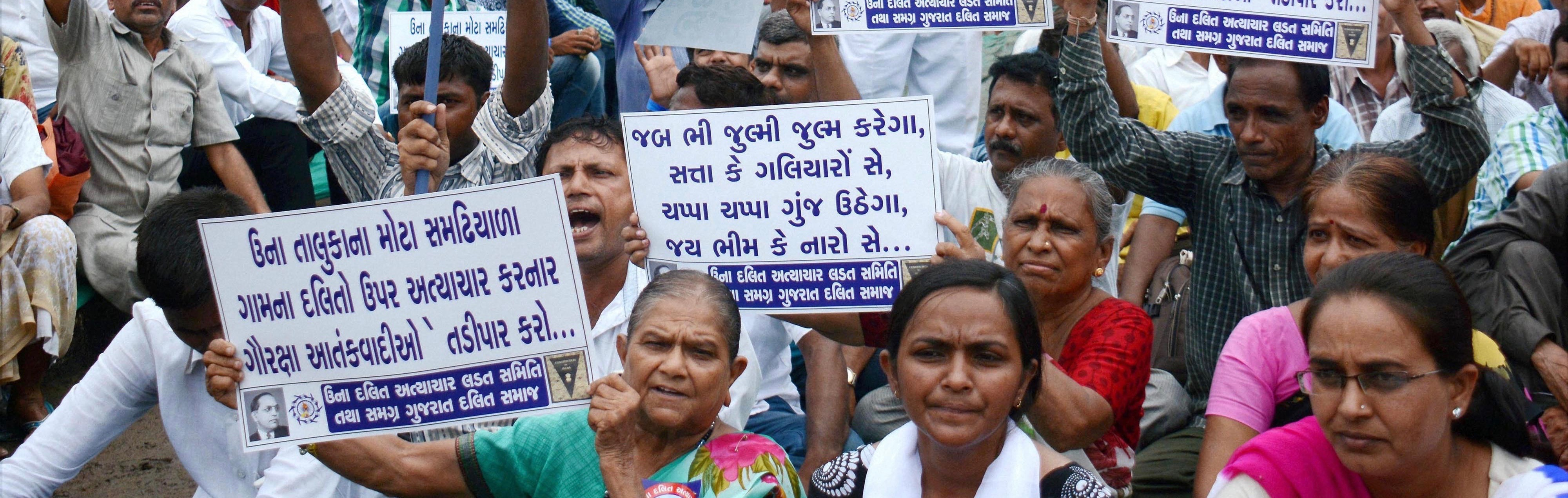 Dalit Protests in Gujarat: Una Protester Dies; Community Holds Anti-BJP Rally