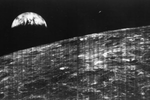 Earthrise the First. Credit: NASA