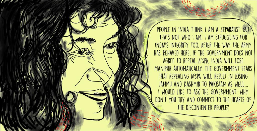 Irom Sharmila quote