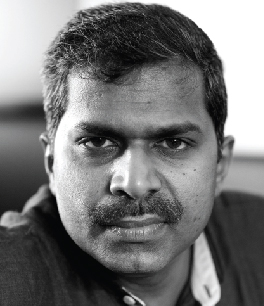 Josy Joseph, author of A Feast of Vultures. Credit: josyjoseph.in