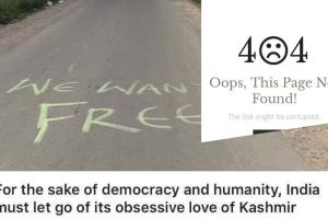 Kashmir article zee