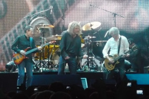 Led Zeppelin performing at the Ahmet Ertegun Tribute Concert in December 2007. Credit: Wikimedia Commons