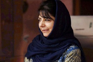 Mehbooba Mufti,chief minister of Jammu and Kashmir.  Credit: PTI