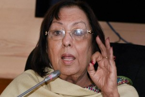 Former union minister Najma Heptullah will be the new governor of Manipur. Credit: PTI