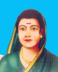 A portrait of Savitribai Phule. Credit: Wikimedia Commons