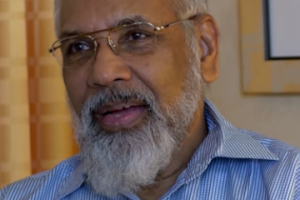 Northern Province's chief minister, C.V. Vigneswaran thinks India should get involved in educating the Sinhalese polity. Credit: Youtube Screenshot